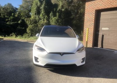 DC Clear Auto Bra Fort Washington MD 2018 Tesla Model X in For a Full XPEL STEALTH WRAP(5)