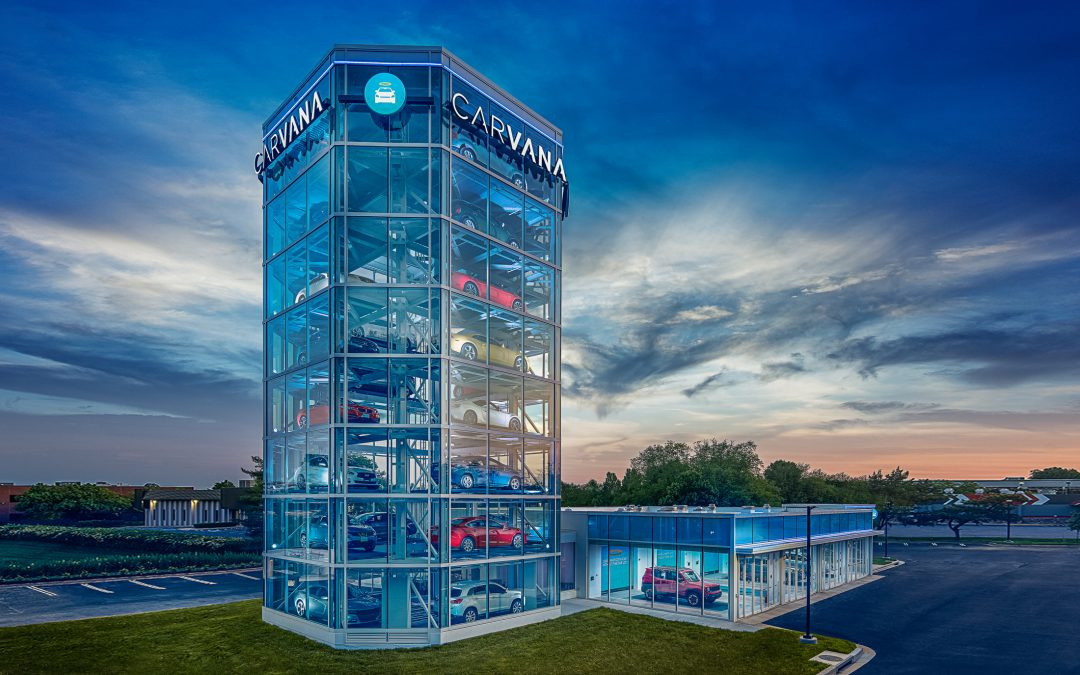 Carvana's Vending Machines: The New Way to Buy a Car